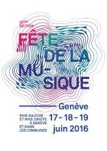 Affiche Fête de la Musique 2016, © Collectif insolite